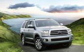 SUV cỡ lớn Toyota Sequoia 2017 trình làng, giá từ 45.460 USD