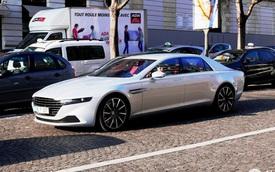 """Xe nhà giàu Aston Martin Lagonda """"nổi bần bật"""" trên phố"""