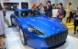 """Aston Martin Rapide S – Xe sang """"Đông Tây kết hợp"""""""