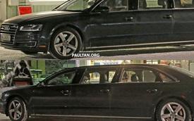 Bất ngờ với Audi A8 Limousine 6 cửa trên đường thử