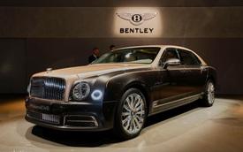 Chiêm ngưỡng xe nhà giàu Bentley Mulsanne EWB 2017 ngoài đời