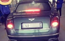Bentley Mulsanne Speed nộp thuế 13 tỷ Đồng tại Việt Nam đã có biển số