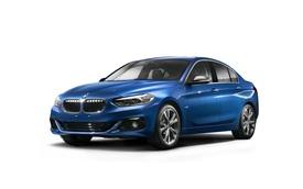 Xe sang BMW 1-Series Sedan hoàn toàn mới lần đầu lộ diện