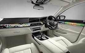 Làm quen với một BMW 740Li đậm chất nghệ thuật