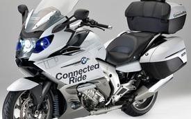 BMW K1600 GTL được trang bị đèn pha laser như i8