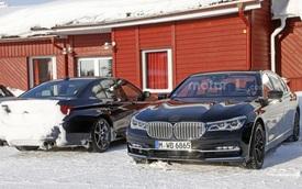 Đây có thể là BMW M7, đối thủ của Mercedes S63 hoặc S65 AMG
