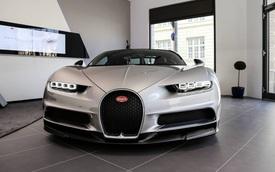 Cận cảnh siêu phẩm Bugatti Chiron tại đại lý chính hãng