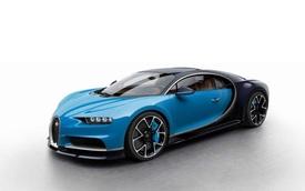 Xem bảng màu tiêu chuẩn của siêu phẩm Bugatti Chiron