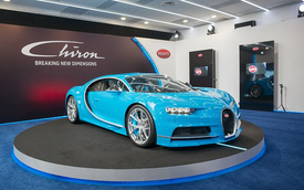 Cận cảnh siêu phẩm 2,6 triệu USD Bugatti Chiron tại Đông Nam Á