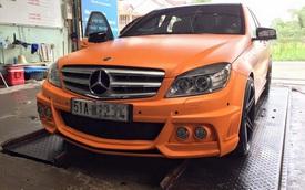 """Chiêm ngưỡng Mercedes-Benz C200 độ """"nổi bần bật"""" của Tuấn Hưng"""