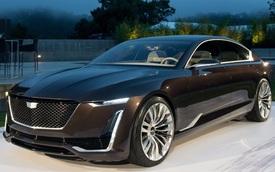 Làm quen với sedan hạng sang cỡ lớn Cadillac Escala mới
