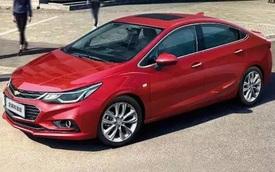 Chevrolet Cruze XL ra mắt với kích thước lớn hơn