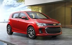 Xe giá rẻ Chevrolet Sonic 2017 trình làng sớm
