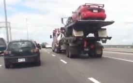"""Cứu hộ ô tô theo phong cách """"3 trên 1"""""""
