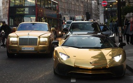 Tỷ phú Ả-Rập mang dàn xe hơn 41 tỷ Đồng đi du lịch