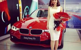 Nữ ca sỹ Dương Hoàng Yến tậu BMW 3-Series nhân dịp sinh nhật
