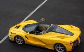 Ferrari âm thầm giới thiệu LaFerrari mui trần với khách VIP