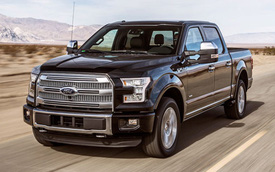 """Người Mỹ tiếp tục """"phát cuồng"""" với xe bán tải Ford F-Series"""