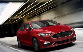 Vén màn Ford Fusion 2017 mạnh hơn Toyota Camry và Honda Accord