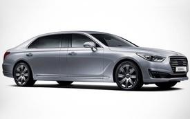 Genesis EQ900L - Xe sang dài hơn cả Mercedes-Maybach S600