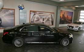 Chiếc sedan cao cấp Genesis G90 đầu tiên đến tay chủ