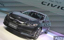 Honda Civic 2016 ra mắt tại Thái Lan, giá từ 552 triệu Đồng