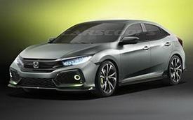 Ngắm trước hình ảnh của Honda Civic Hatchback thế hệ mới