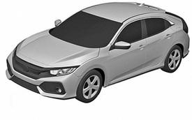 Honda Civic Hatchback 2017 lộ diện, sản xuất tại Thái Lan