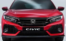 Honda Civic Hatchback 2017 trình làng, dài, rộng và nhẹ hơn