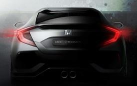 Honda Civic Hatchback thế hệ mới lần đầu lộ diện