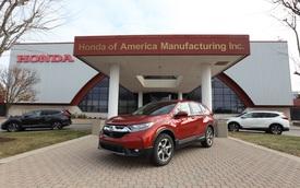 Honda CR-V thế hệ mới bắt đầu được sản xuất