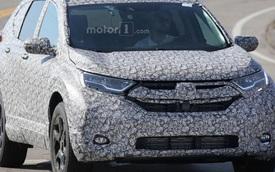 Lần đầu tiên bắt gặp Honda CR-V 2018 trên đường thử
