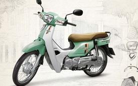 Honda Super Dream 110 thêm màu xanh ngọc, giá 18,99 triệu Đồng