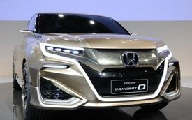 UR-V - Xe SUV đầu bảng hoàn toàn mới của Honda