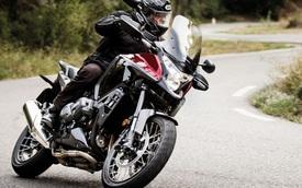 """Chi tiết xe cho """"phượt thủ"""" Honda VFR1200X Crosstourer 2016"""