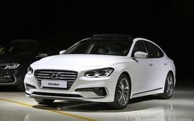 """Ngắm sedan cỡ trung cao cấp Hyundai Azera 2017 """"bằng xương, bằng thịt"""""""