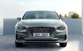 Sedan cỡ trung Hyundai Azera 2017, cao cấp hơn Sonata, có giá từ 508 triệu Đồng