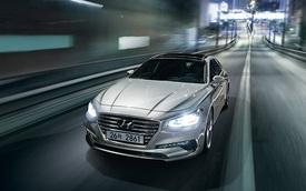 Sedan cỡ trung Hyundai Azera thế hệ mới chính thức trình làng