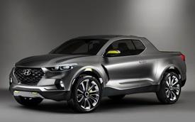 Kia cũng phát triển xe bán tải, dựa trên Hyundai Santa Cruz