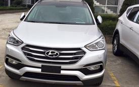 Hyundai Santa Fe 2016 xuất hiện tại nhà máy ở Ninh Bình