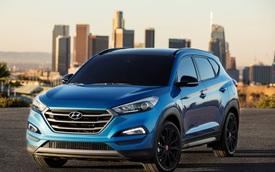 """Hyundai Tucson phiên bản """"bóng đêm"""" trình làng"""