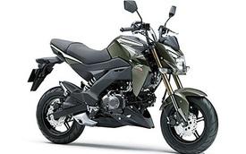 Kawasaki Z125 Pro 2017 trình làng, giá từ 66,5 triệu Đồng