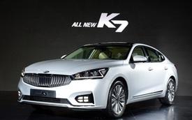 """Ngắm kỹ Kia K7 thế hệ mới """"bằng xương, bằng thịt"""""""