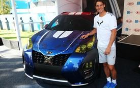 Sao quần vợt Rafael Nadal giới thiệu Kia Sportage phiên bản X-Men