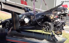 Vụ tai nạn này cho thấy siêu xe Koenigsegg One:1 rất an toàn