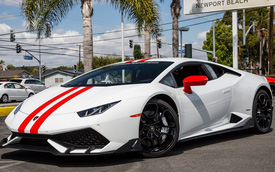 Ngắm kỹ Lamborghini Huracan lắp thêm bộ phụ kiện hơn 500 triệu Đồng