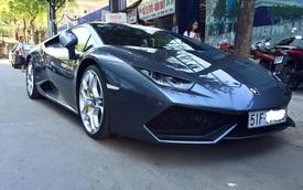 Lamborghini Huracan chính hãng dạo phố Sài Gòn sáng đầu năm