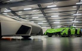 Làm quen với chiếc Lamborghini Veneno Roadster ra lò cuối cùng