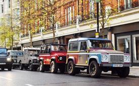 """Sau khi bị """"khai tử"""", Land Rover Defender liên tục rơi vào tay trộm"""