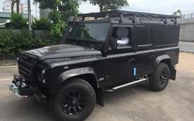 Land Rover Defender bản đặc biệt cho Việt Nam về nước